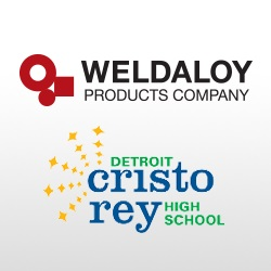 Weldaloy and Detroit Cristo Rey