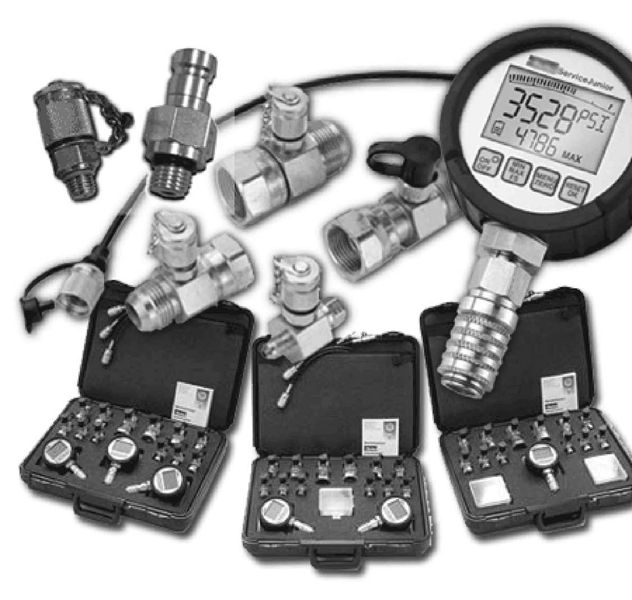 Digital Pressure Gauge Diagnostic Tee Kit