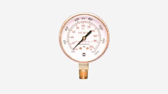 High Pressure Gauges