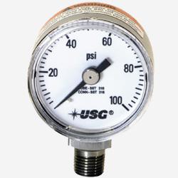 High Pressure Gas Gauge