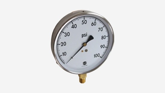 Mechanical Contractors Pressure Gauges