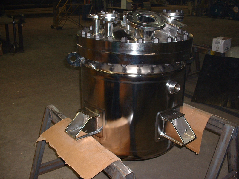 Polished Pressure Tanks