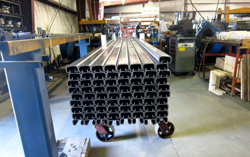 Roll Forming Seat Tracks
