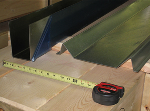 Roll Forming panels, fins, & plates