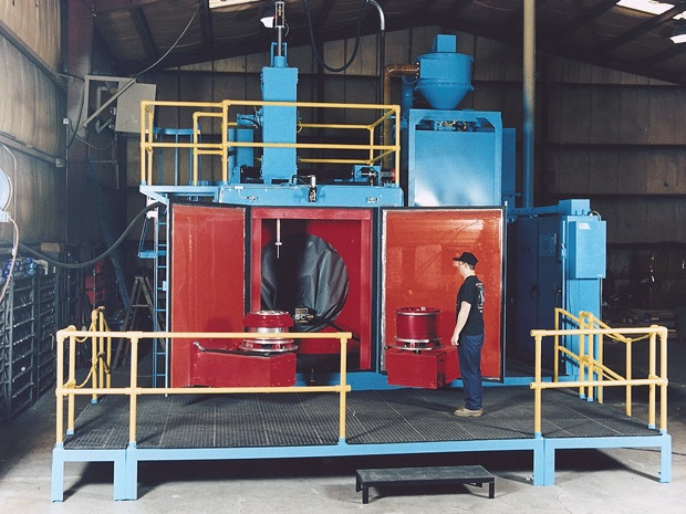 Pressure Shot Peening Machine