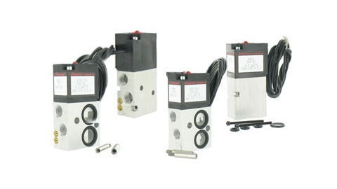 4-Way Solenoid Stackable Valves