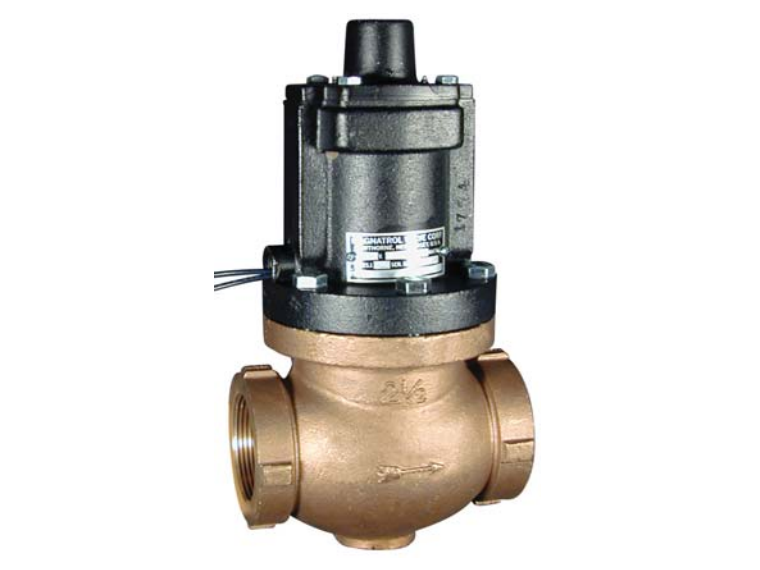 Full Port Normally Open Bronze Solenoid Valve