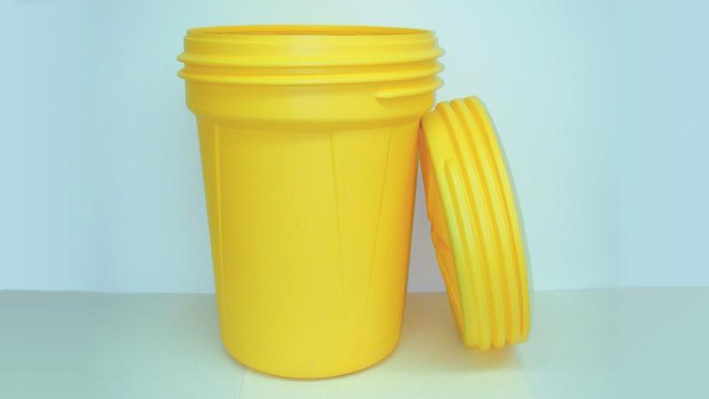 30 Gallon Lab Pack Plastic Drum