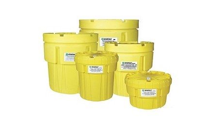 Plastic Salvage Drums