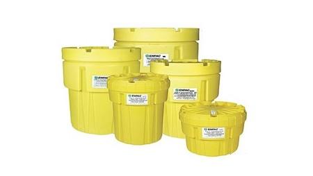 Plastic Salvage Drums