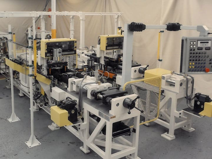 Push Pull Tube Production Line