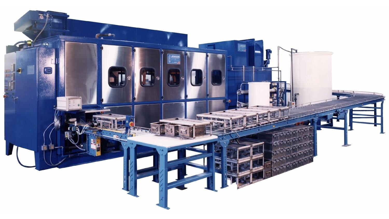Ultrasonic Vertical Agitation Parts Washer