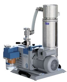 Lubricated rotary vane pumps
