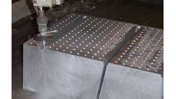 Water Jet Metal Cutting