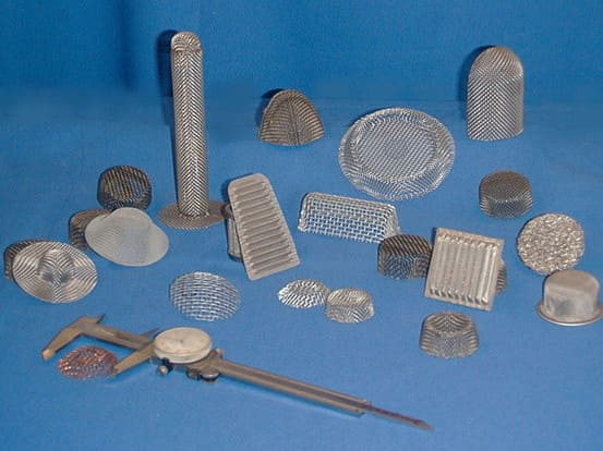 Assortment of Wire Mesh Products
