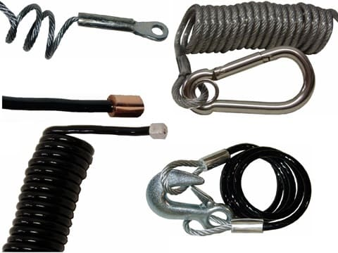 Small Coiled Cable Assemblies
