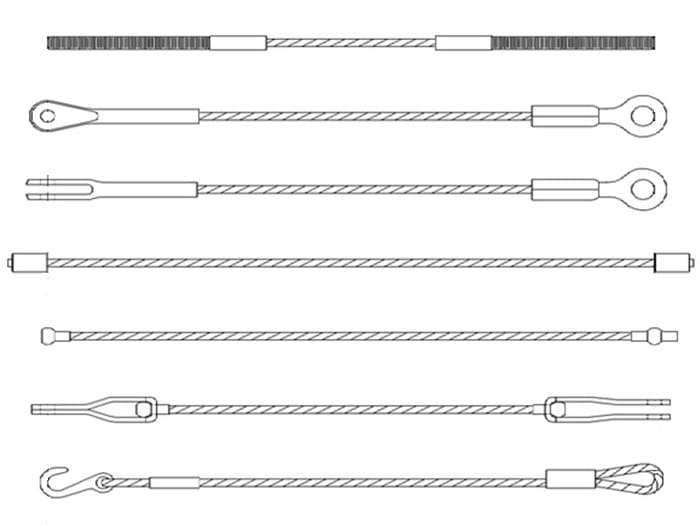 Different Types of Wire Rope and Fittings