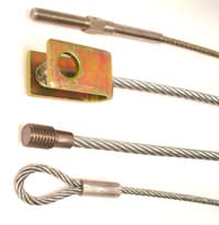 Custom steel cable assemblies
