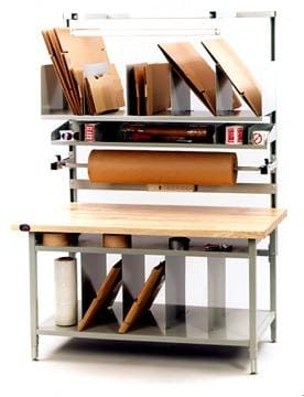 Packing and Shipping Corner workstation table