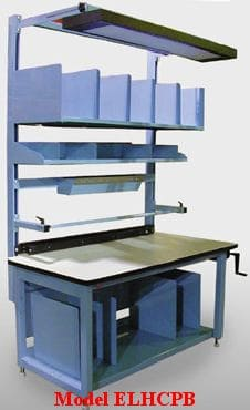 Modular Packing and Shipping tables