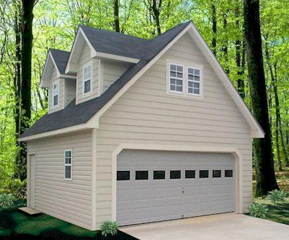 Prefabricated garages manufacturers iqs directory for One car garage kit with loft