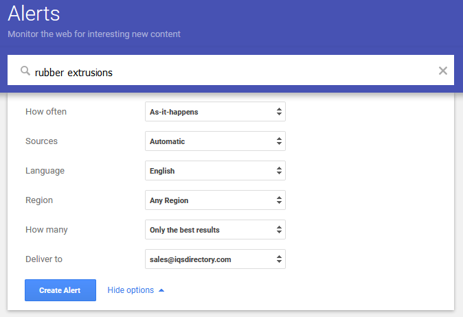 monitor google alerts