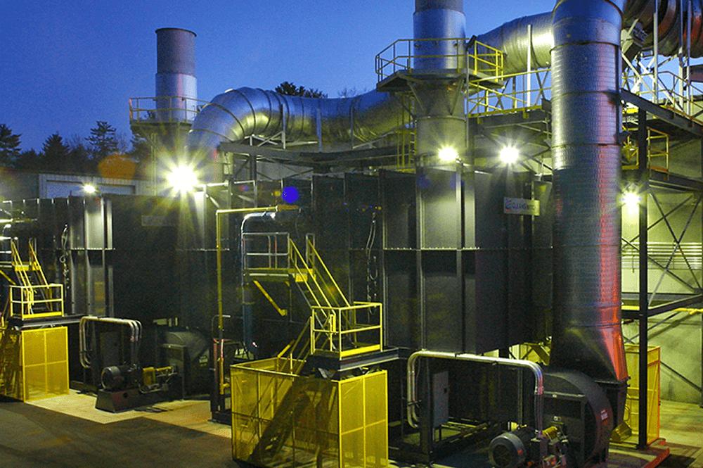 Regenerative Thermal Oxidizer (RTO) – B&W MEGTEC