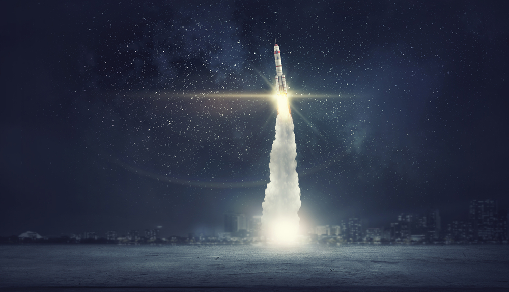 Rocket in Orbit