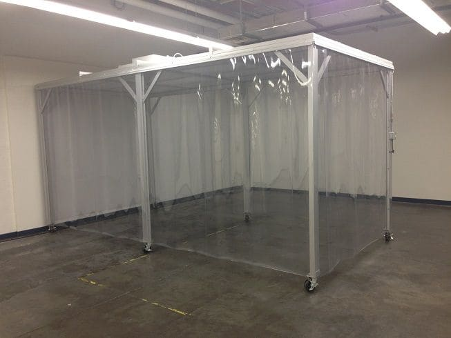 Softwall Cleanroom - Cleanrooms by United