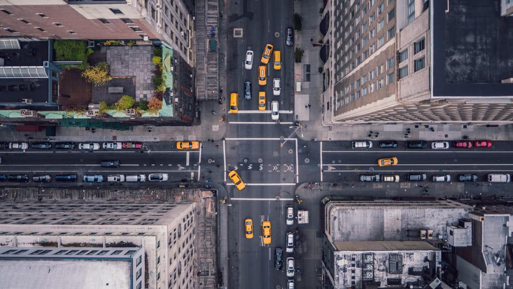 City Street Creating Sustainable Smart Cities
